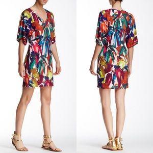 Trina Turk Griffin Print Jersey Shift Dress SZ 6